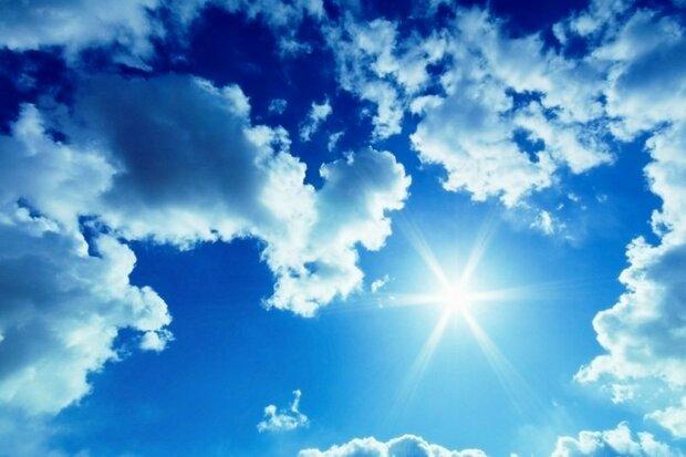 افزایش دما و کاهش وزش باد