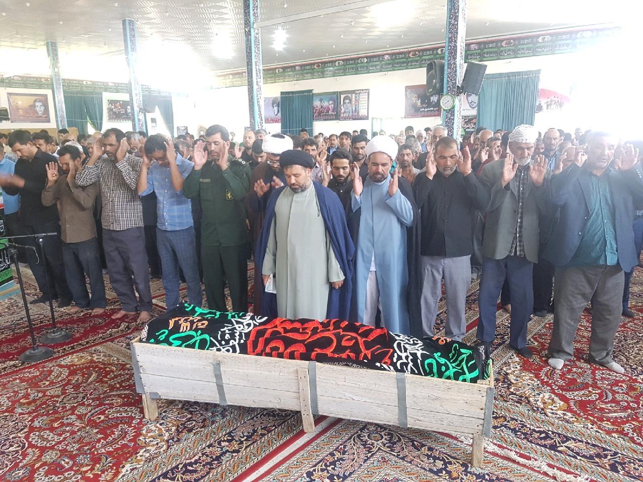 درگذشت پدر شهید حسن ناصری