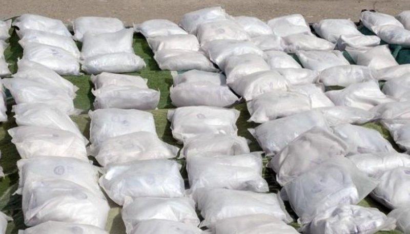کشف بیش از نیم تن مواد مخدر در بار سبوس و خوراک دام