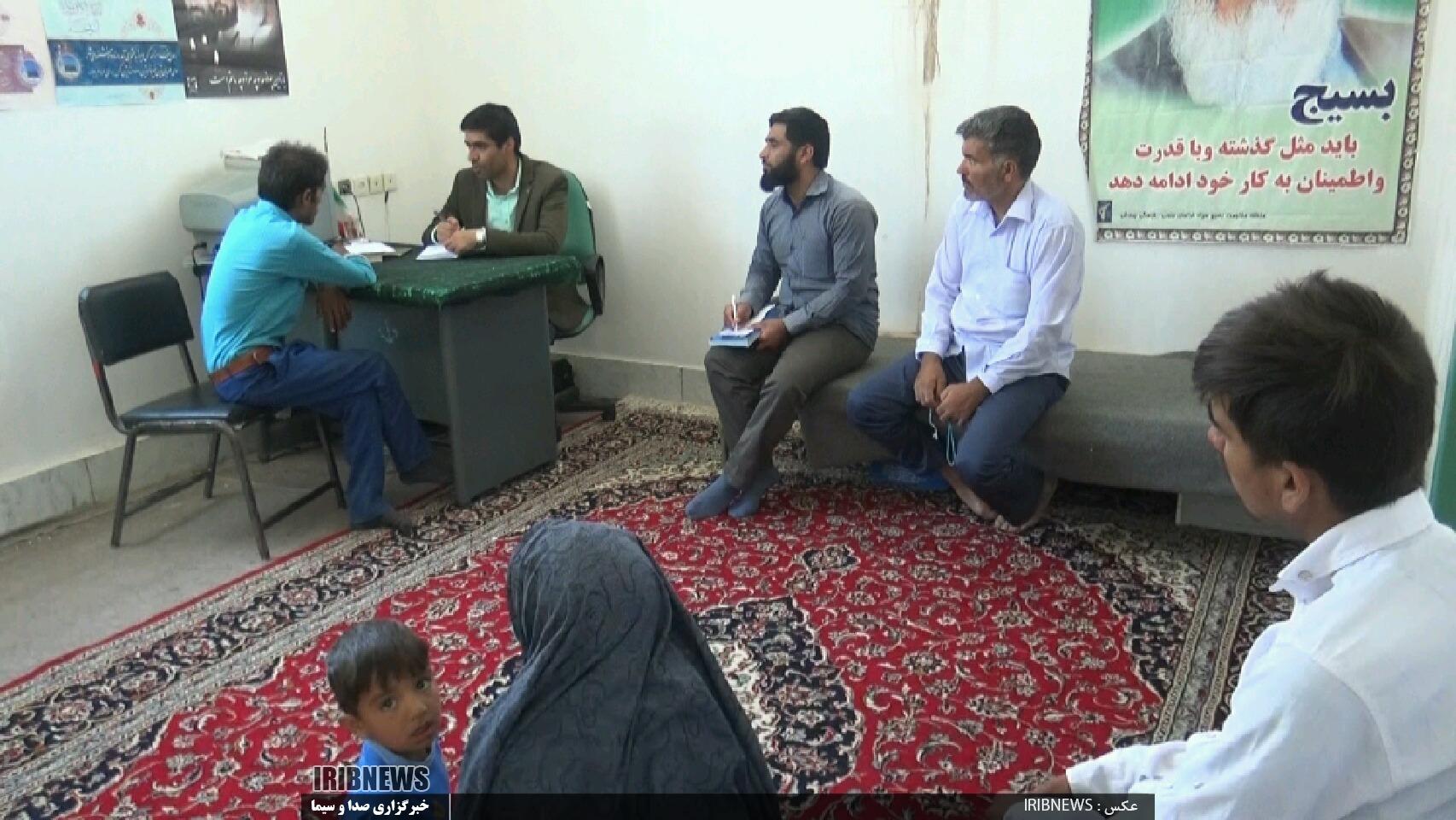 فعالیت گروه جهادی میثاق جوانان در روستای گلوباغ بخش درح