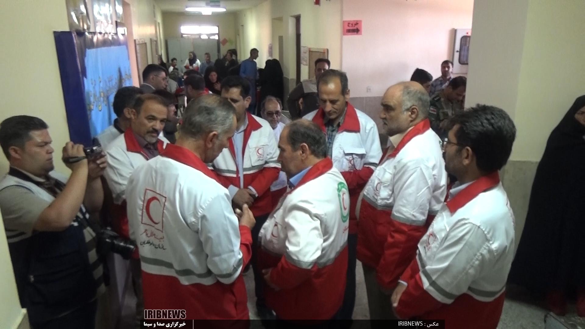 حضور کاروان سلامت اردبیل در شهر مرزی درح