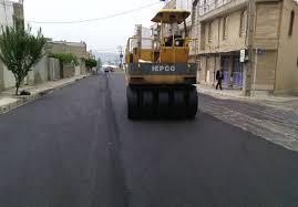 آسفالت 40 هزار متر مربع معابر شهری اسلامیه