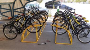 راه اندازی دو ایستگاه دوچرخه در دانشگاه بیرجند