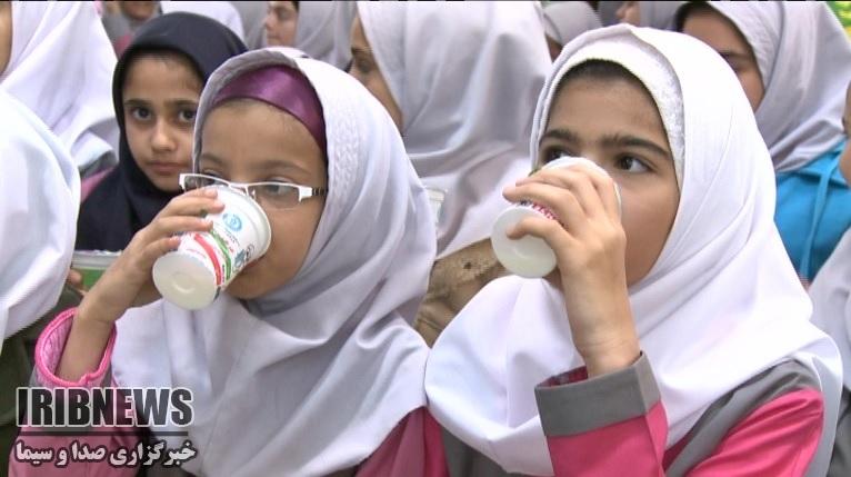اختصاص سهمیه توزیع شیر به دانش آموزان خراسان جنوبی