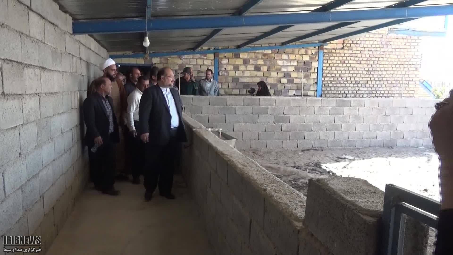 حضور وزیر تعاون ، کار و رفاه اجتماعی در شهرستان سرایان
