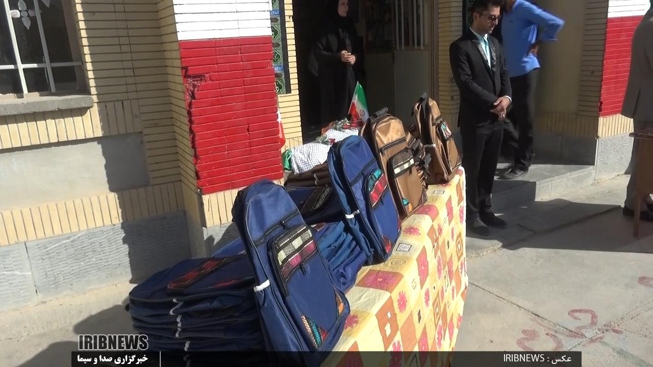 توزیع 5هزار بسته نوشت افزار بین دانش آموزان شهرستانهای مرزی