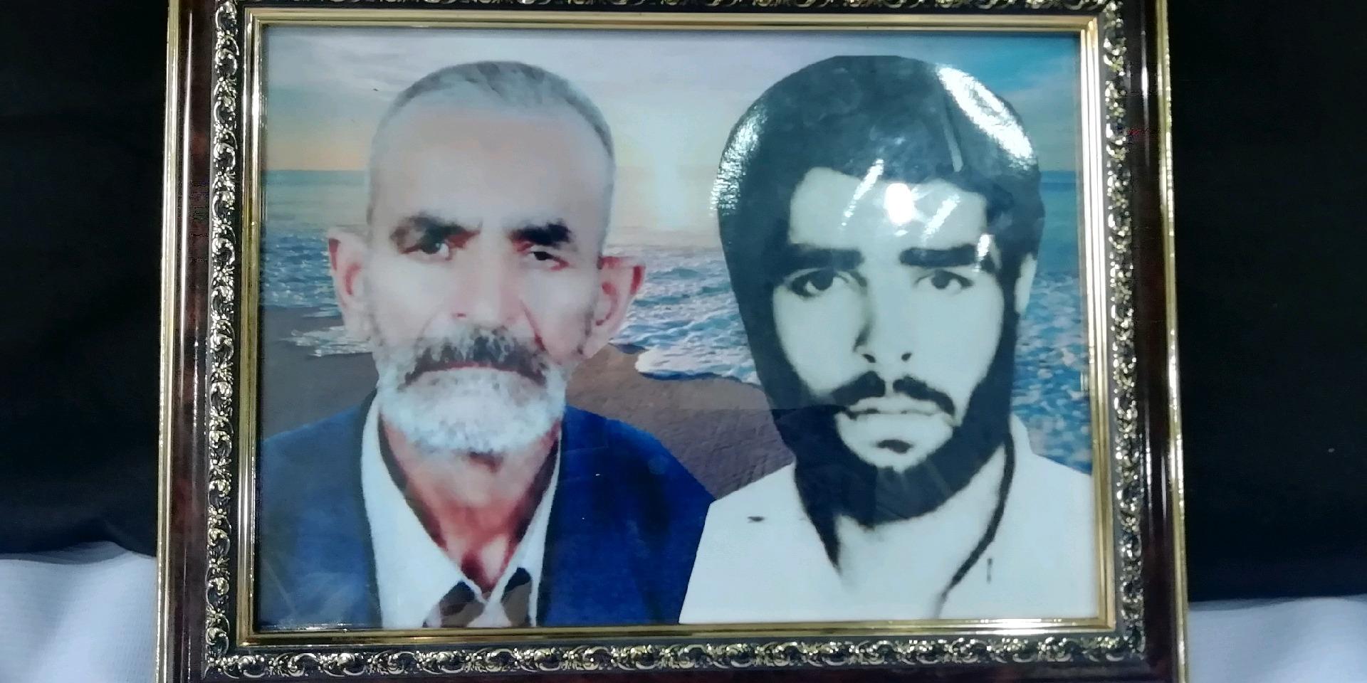 فوت پدر شهید محمد حسین تخمکار