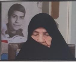 تشییع مادر شهید محمدرضا فرهادی