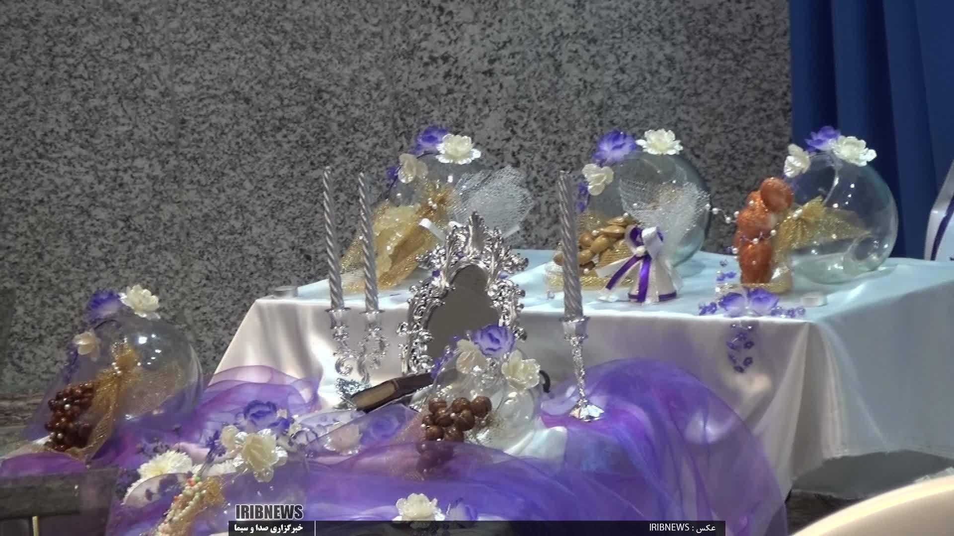 جشن ازدواج ۷۹ زوج طلبه و روحانی استان همزمان با میلاد امام حسن عسکری (ع)