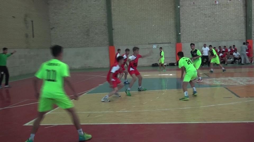 نایب قهرمانی نماینده خراسان جنوبی در مسابقات هندبال نونهالان پسر مناطق ۵ و ۶ کشور
