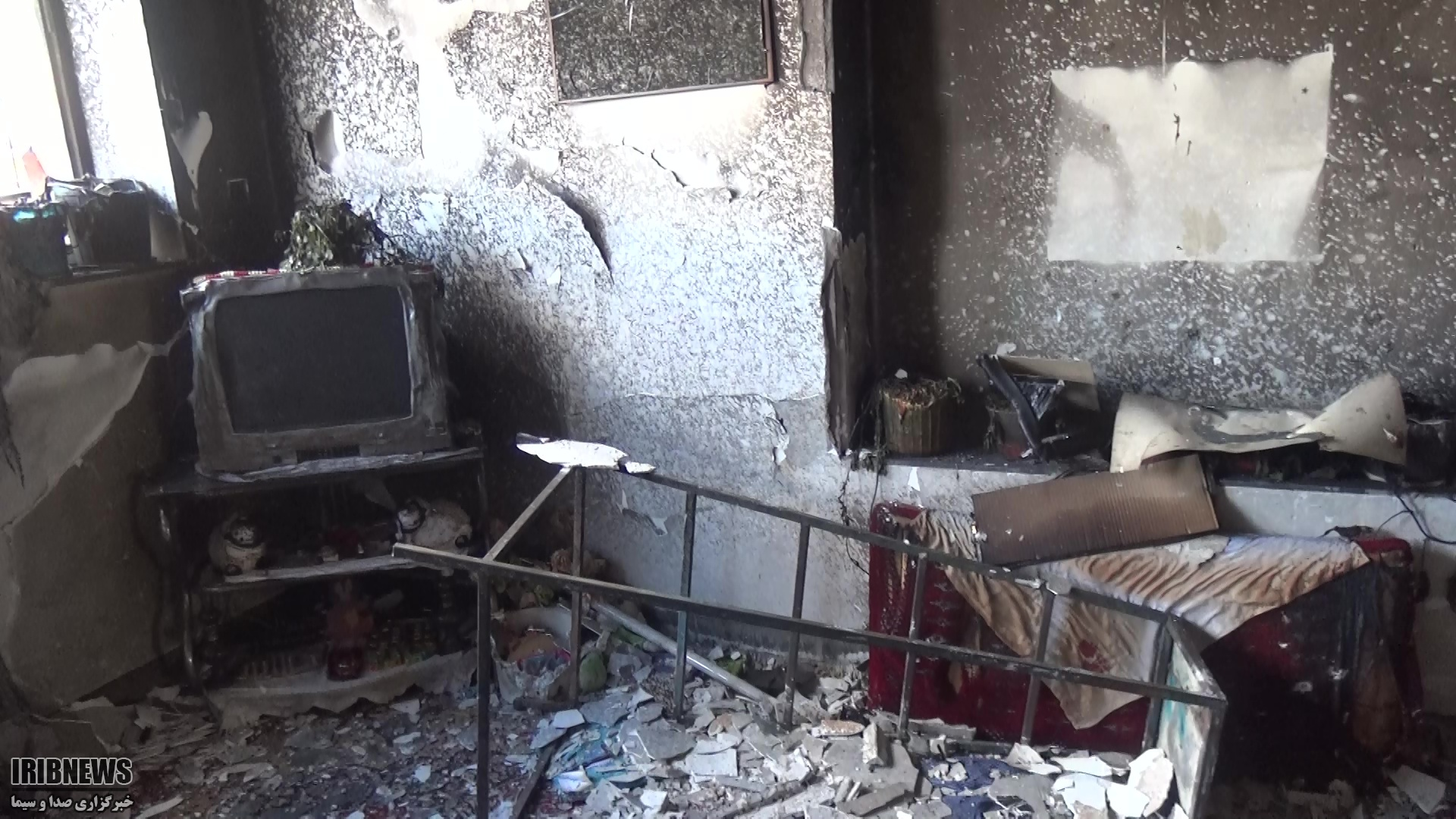 یک مصدوم بر اثر آتش سوزی در بیرجند