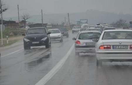 بارندگی شدید، کاهش دید و ترافیک بالا در محور بیرجند- قاین