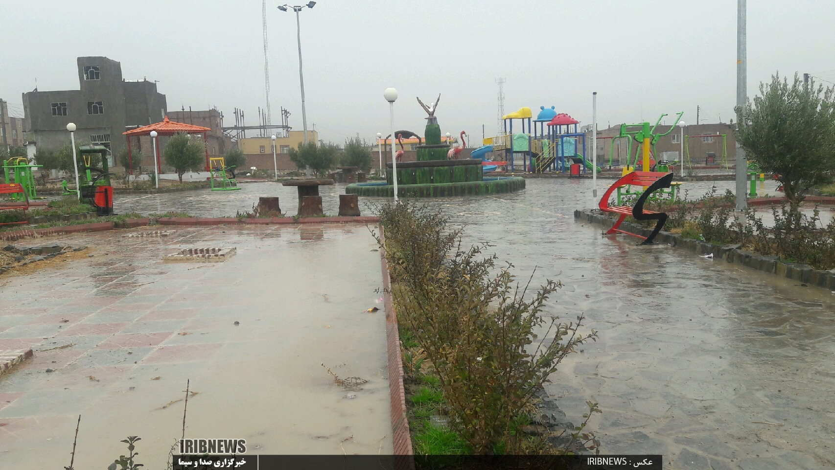 تداوم بارندگیها در خراسان جنوبی