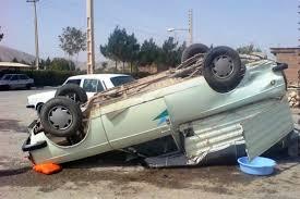 یک کشته در واژگونی وانت پیکان در محور فرعی خوسف