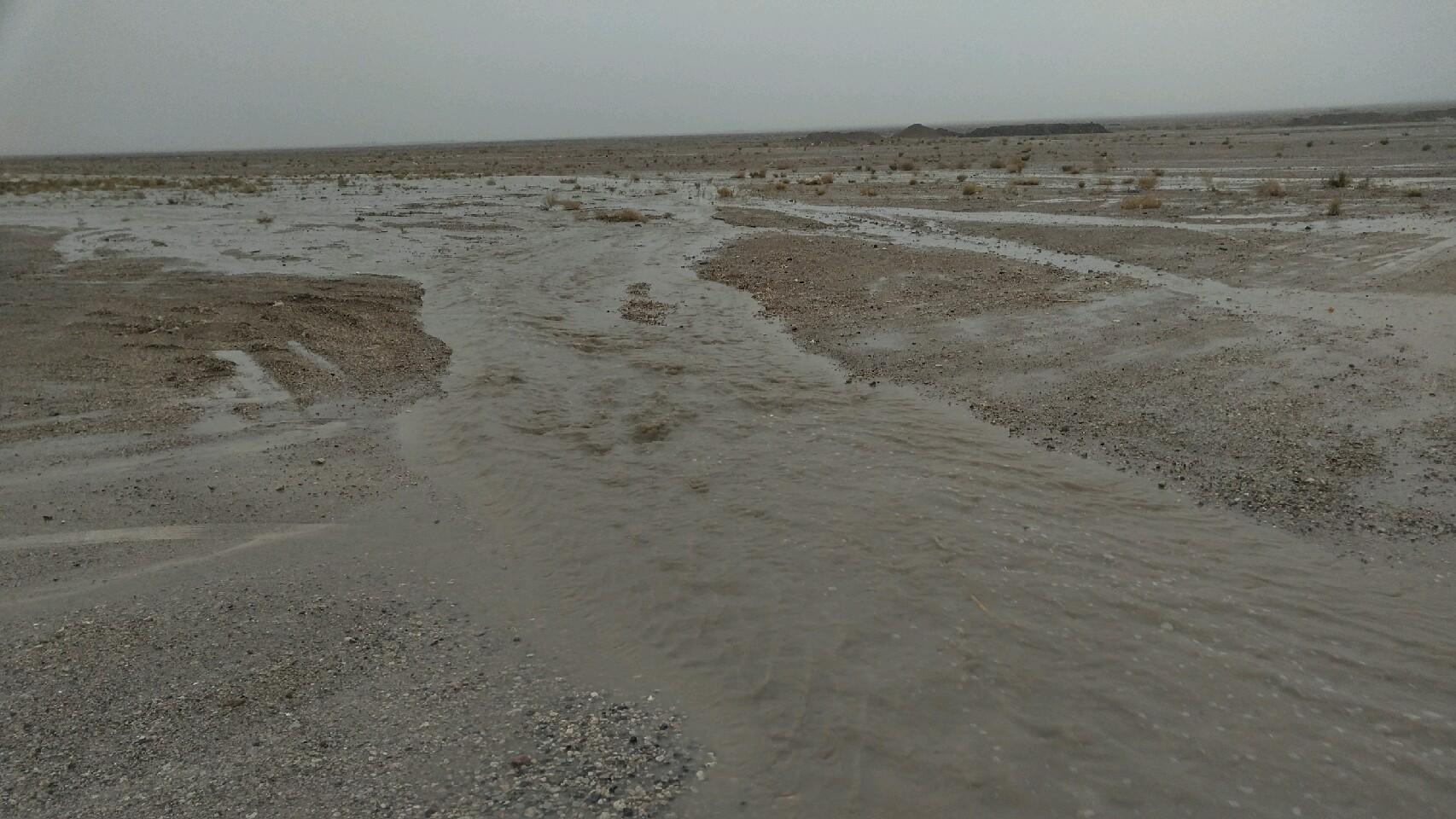 ثبت بیشترین بارش خراسان جنوبی در تپه طاق طبس