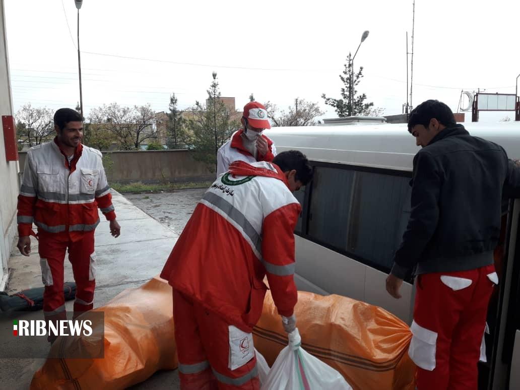 امدادرسانی امدادگران هلال احمر به ۹۲ حادثه دیده