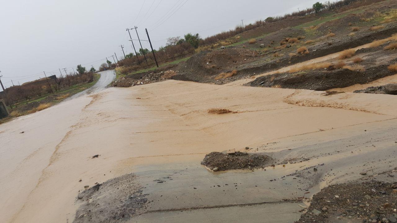 ثبت بیشترین بارش بهاری در فتح آباد فردوس