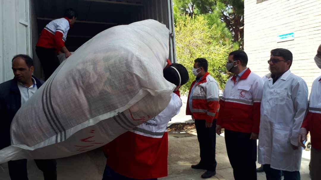 ارسال دهمین محموله کمکمهای مردم خراسان جنوبی به سیستان و بلوچستان
