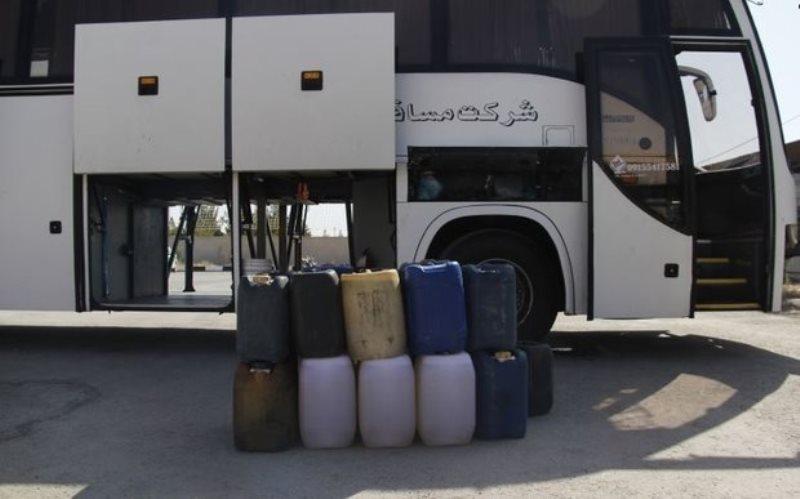 قاچاق نافرجام احشام و سوخت با اتوبوسهای مسافربری