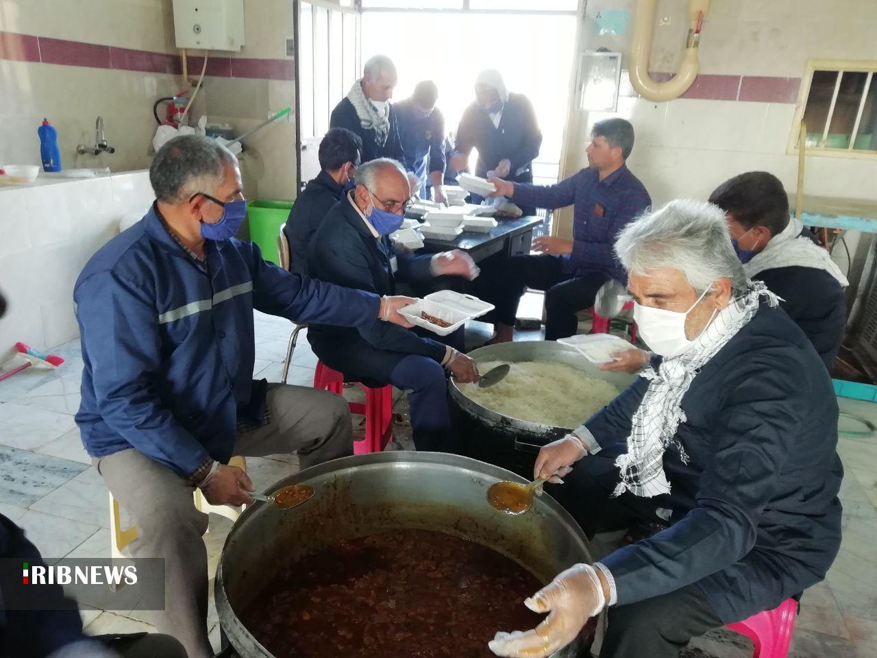 کمک دفتر رهبرمعظم انقلاب برای اطعام نیازمندان عشق آباد
