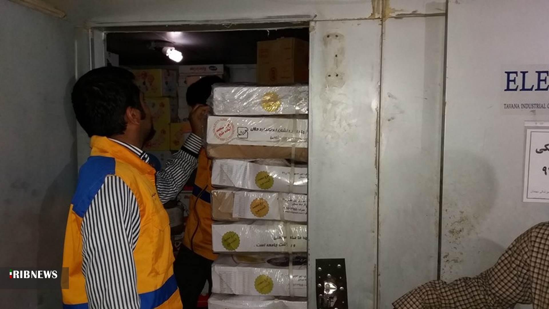 معدوم کردن ۷۴۱ کیلوگرم آلایش خوراکی مرغ در شهرستان بیرجند