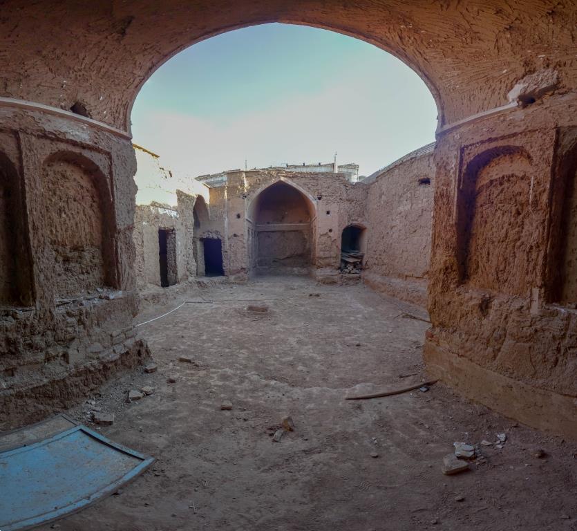 مرمت خانه تاریخی شهابی در شهر بشرویه
