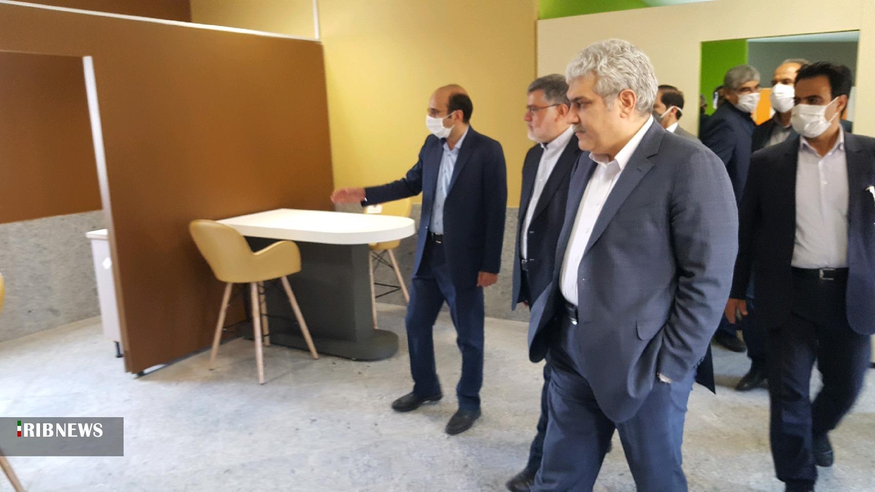 افتتاح مراکز نوآوری دانشگاه صنعتی بیرجند و فردوس
