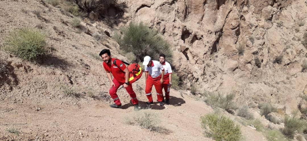 فرد مفقود شده در بشرویه با ۴ ساعت جست و جو پیدا شد