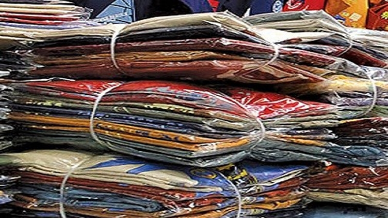 جریمه 226 میلیون ریالی قاچاقچی پوشاک در نهبندان