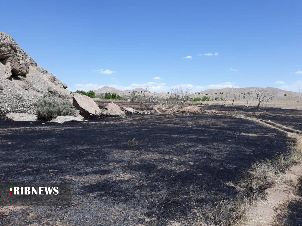 اطفاء دو حادثه آتش سوزی در بخش ماژان خوسف
