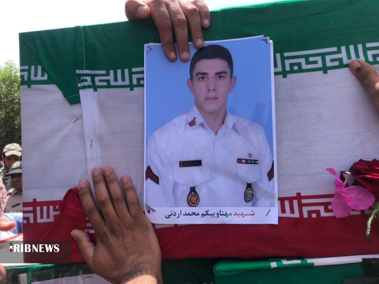 تشییع پیکر شهید اردونی امروز در نهبندان