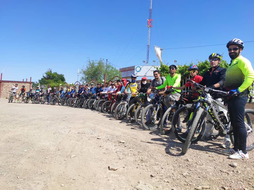 برگزاری همایش دوچرخه سواری در قاین