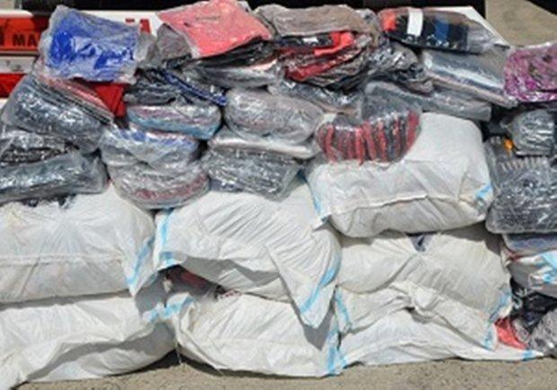 البسههای قاچاق با هوشیاری پلیس به مقصد نرسید