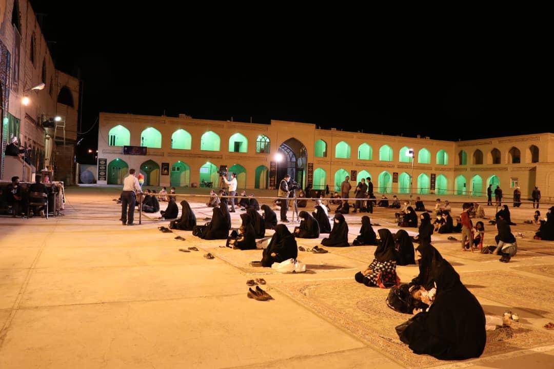شب اول محرم الحرام در آستان مقدس امامزادگان خراسان جنوبی