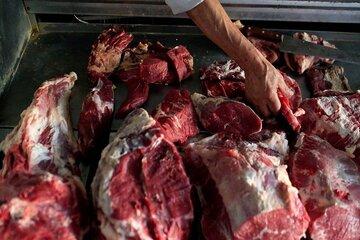 نیسان حامل گوشت غیرمجاز توقیف شد