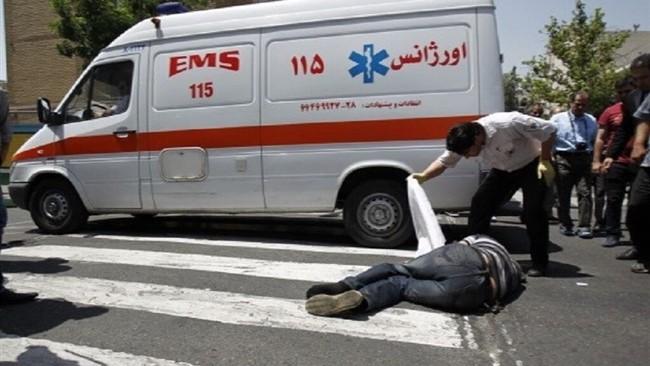 بی توجهی راننده خودرو عامل جان باختن عابر پیاده