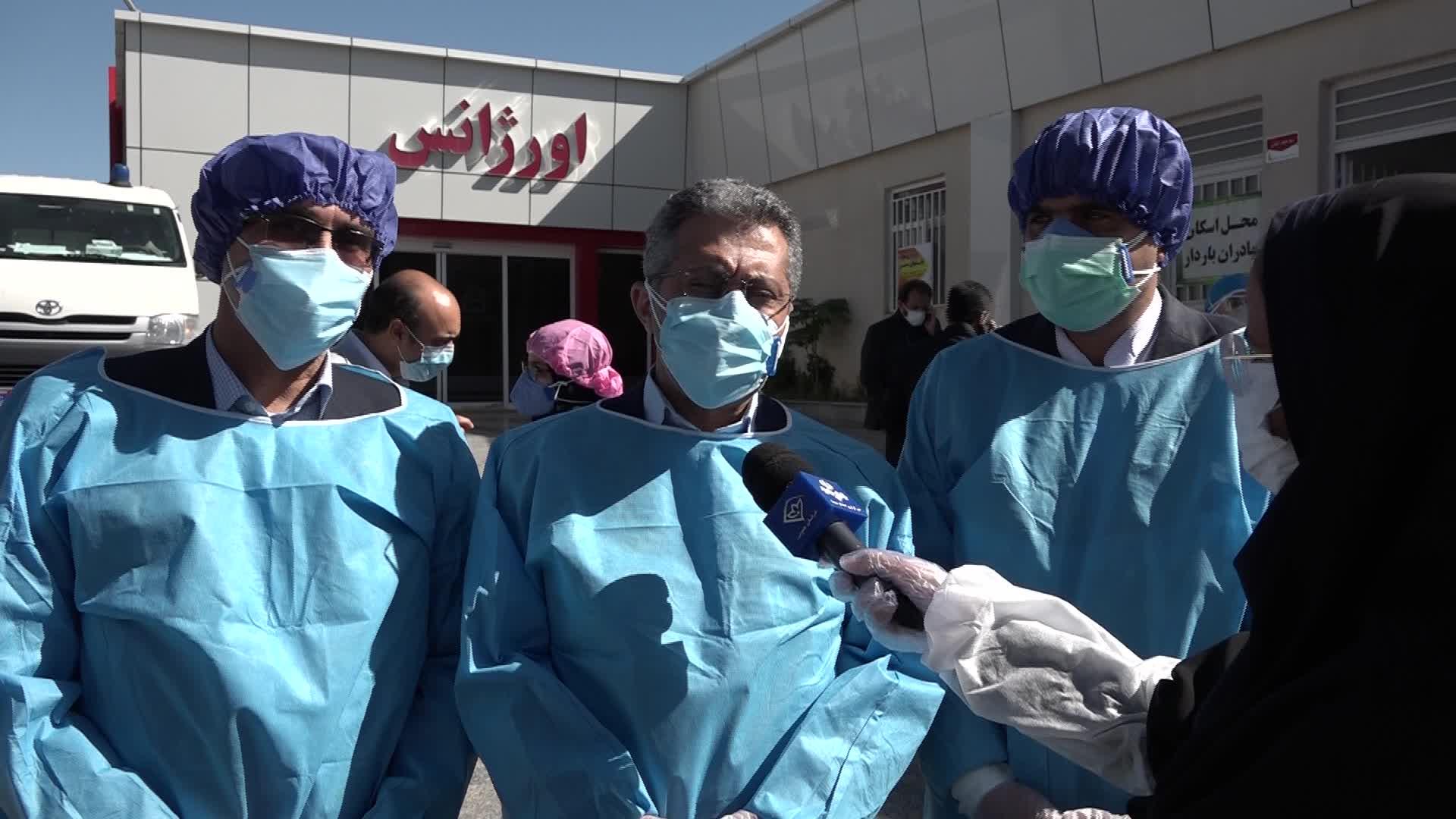 معاون وزیر بهداشت: کادر درمان خراسان جنوبی خوب عمل کرده اند