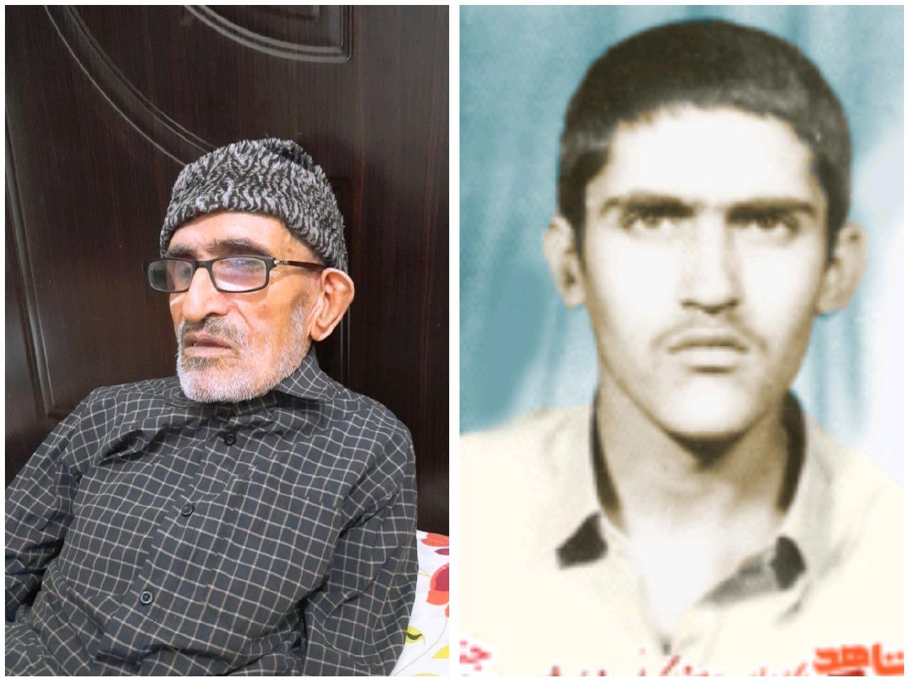 درگذشت پدر شهید علی بهرام پور در نهبندان