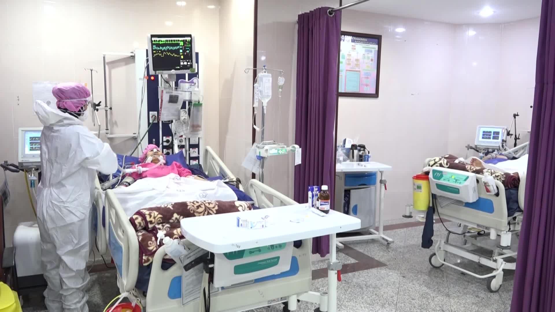حال ۸ بیمار کرونایی بستری در بخش مراقبتهای ویژه نامساعد است