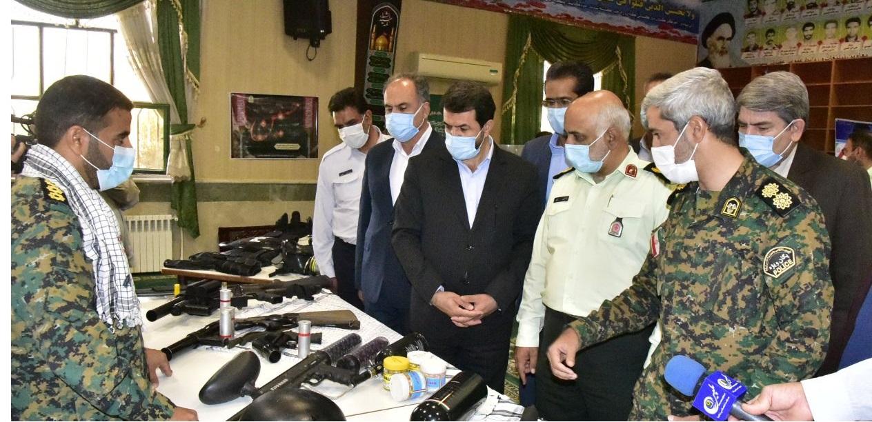 افتتاح نمایشگاه دستاوردهای نیروی انتظامی در دفاع مقدس